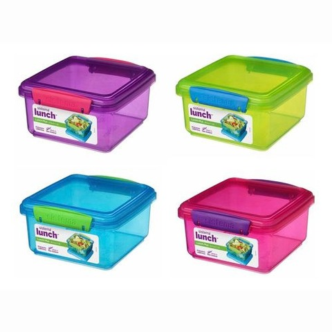 Contenedor Sistema Lunch 1.2lts Color (Tupper)