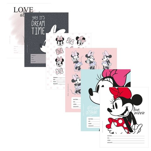 Separadores  N°3 x6 Mooving Minnie Mouse 1101131