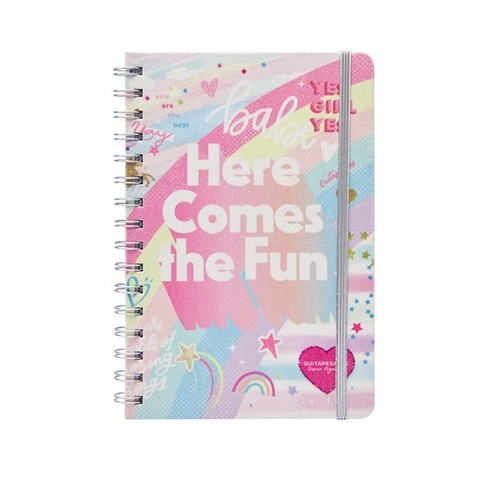 Cuaderno Chico Mooving A5 Glitter Here comes