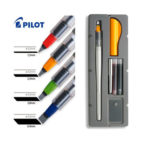 Pluma Pilot Parallel Pen 6.0mm