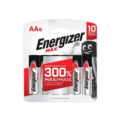 Pila Energizer Max AA x6 Pagás 4