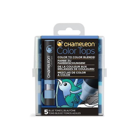 Chameleon TOPS COLOR X5 Tonos Azules