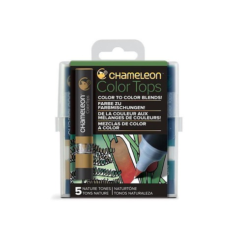 Chameleon TOPS COLOR  X5 Tonos Naturales