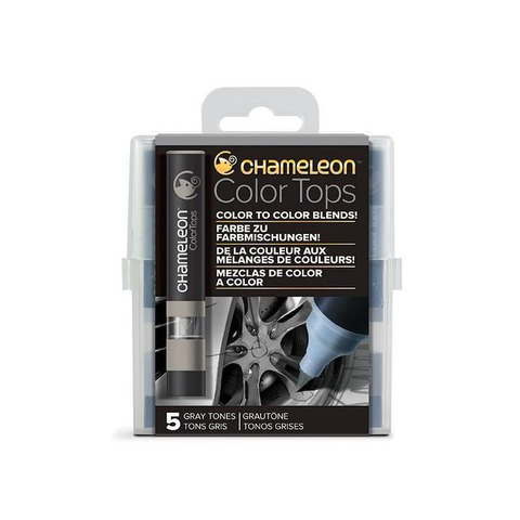 Chameleon TOPS COLOR X5 Tonos Grises
