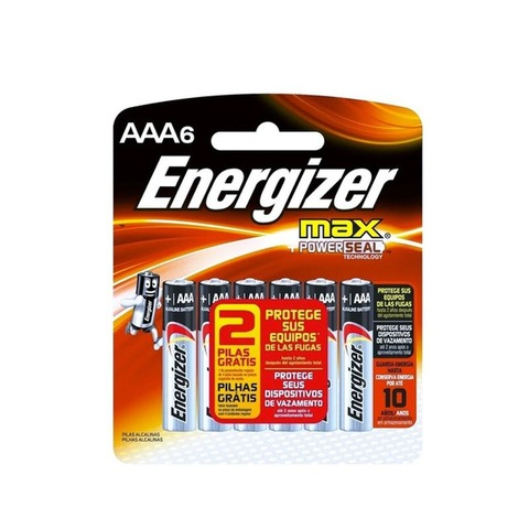 Pila Energizer Max AAA x6 Pagás 4