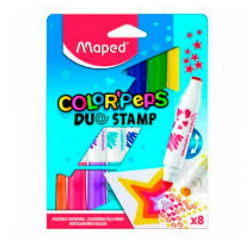 Marcador Maped Duo Stamp