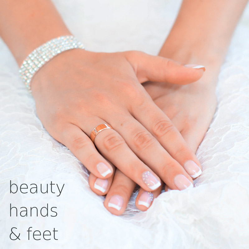Beauty hands and feet